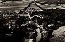Medingen Kreis Uelzen s/w AK ~1950/60 Gesamtansicht mit Umgebung Luftaufnahme