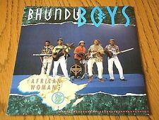 """BHUNDU BOYS - AFRICAN WOMAN  7"""" VINYL PS"""
