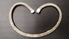 """Lagos Caviar 17"""" Sterling and 18k Gold Necklace"""