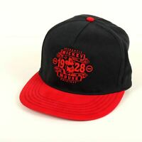 Mickey Mouse 1928 Disney Cap Hat Black Red Snapback Adjustable Authentic
