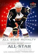 2008-09 Ultra All-Star Royalty #20 Ilya Kovalchuk