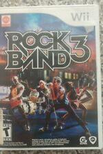Rock Band 3 (Nintendo Wii, 2010) COMPLETE FREE SHIPPING