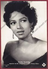 DOROTHY DANDRIDGE 01 ATTRICE ACTRESS ACTRICE CINEMA MOVIE USA Cartolina FOTOGRAF