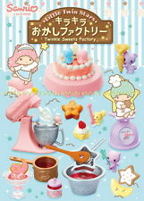 Sanrio Little Twin Stars sparkling candy factory Complete Box - Re-ment    #8ok