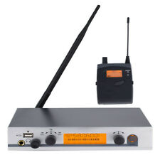UHF Wireless In Ear Monitor System In-Ear Headphones for Stage Performance 130M