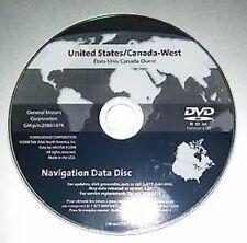 2005 2006 2007 to 2011 Chevrolet Corvette ZR1 Z06 Navigation DVD WEST Coast Map