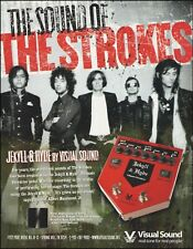 The Strokes Albert Hammond Jekyll & Hyde Visual Sound guitar effects pedal ad