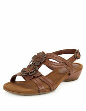Women's Floral Suede Sandals and Beach Shoes