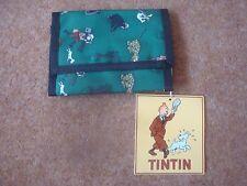 Tintin Wallet - Tintin in the Congo Design - Green - New
