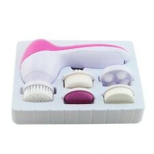 5 In 1Deep Clean Electric Facial Cleaner Face Spa Skin Care Brush Scrubber Color
