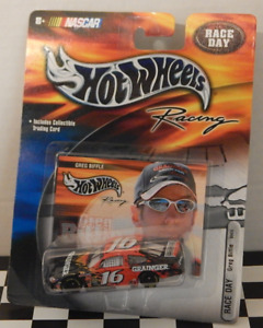 Ford Taurus Hot Wheels Racing NASCAR Race Day Greg Biffle Granger Trading Card