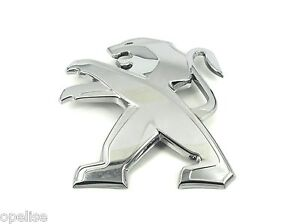 Genuine New Style PEUGEOT BOOT BADGE Rear Emblem For 2008 2013-2018 VTI HDI