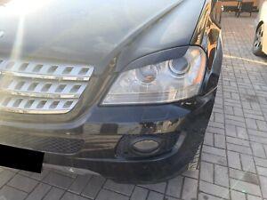 For Mercedes Benz W164 ML350 500 Ml 6.3 Amg Headlight Eyelashes Eyebrows Eyelids