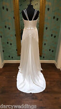 Stunning Stephanie Allin Couture ' Chicago' Wedding gown Size UK 14