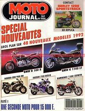 MOTO JOURNAL 1009 HARLEY DAVIDSON XR 883 1200 Sportstrack INDIAN 4 cylindres 41