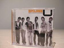 K-POP SUPER JUNIOR 1st Single Album U CD Music CD