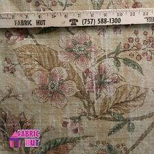 Home Decor Vintage Tree Floral Heavy Upholstery Fabric by the Yard