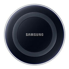 Genuine Original Samsung Qi Wireless Charger Disc Charging Pad for Galaxy S6 Black