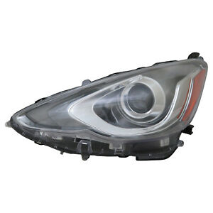 For 2015-2017 Toyota Prius C Headlight Head Lamp Driver Side LH