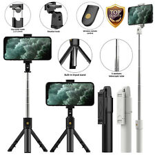 Extendable Selfie Stick Monopod Tripod Stand Remote Shutter 360 For Cell Phone