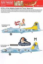 Kits-Boeing B-17G Flying Fortress mundo 1/48 8th Air Force Nose Art # 48015