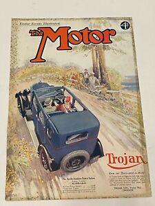 RARE TROJAN Original A4 Car Magazine Advert Apr 2nd 1929 Car Advertising L2