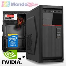 PC Computer GAMING Intel i7 6700K 4,0 Ghz - Ram 8 GB - HD 2 TB - nVidia GTX 1050