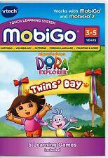 VTech MobiGo Learning Game Dora The Explorer Twins Day