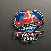 DLR - Fourth of July 2006 All American Beauty Jessica Rabbit Disney Pin 46965