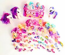 My Little Pony Lot of 65 Figures, Plush and Mobile Pony Star Bus MLP Ponies