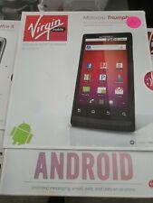 Motorola Triumph (Virgin Mobile) Brand New