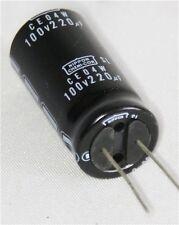 Nippon Chemi-Con SL Radial 220uF 100V 85C