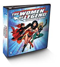 DC COMICS: THE WOMEN OF LEGEND [2013] Factory Sealed Binder / Album [TF-04 Card]