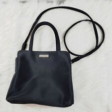 Nine West Black Crossbody Handbag Purse Small Fabric Zip