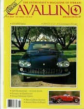 Vintage Cavallino Ferrari Magazine Number 57 Jun/Jul 1990  375 MM  330 GT 2+2