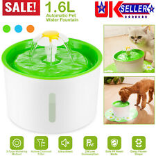 More details for automatic pet water fountain cat kitten dog health caring water dispenser silent