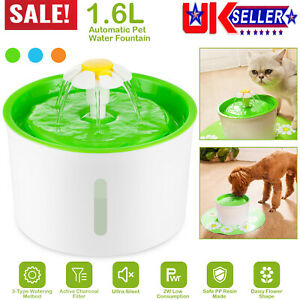 Automatic Pet Water Fountain Cat Kitten Dog Health Caring Water Dispenser Silent