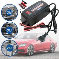 Chargeur de Batterie 5A/12v Voiture Moto Rapide Smart Indicateur Imperméable EU