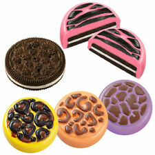 Wilton ANIMALS PRINT COOKIES Chocolate Candy Melts Plastic Mould Cake Decorating