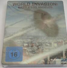 World Invasion - Blu-ray/NEU/Action/Aaron Eckhart/Michelle Rodriguez/Steelbook