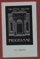 Great Yarmouth The Little Theatre. 1950 'Let Nothing You Dismay'  fb62