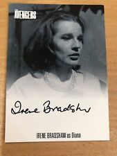 The Avengers Complete Collection Irene Bradshaw As Diana Autograph Card