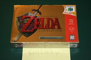 Legend of Zelda Ocarina of Time Collector's Edition (N64) NEW SEALED V-SEAM, EXC