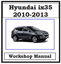 hyundai car truck service repair manuals ebay rh ebay com au hyundai tucson ix35 service manual hyundai ix35 service manual pdf
