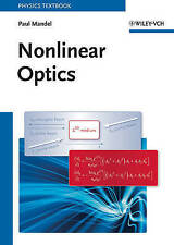 Nonlinear Optics: An Analytical Approach by Paul Mandel (Paperback, 2010)