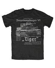 Tiger Panzer Premium T-Shirt Panzertruppe Königstiger Tank World