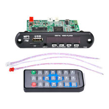 Bluetooth Video Decoder Board Hd 1080P Audio Decoding Ir Dvd Vcd, Dvcd Mkv Flv