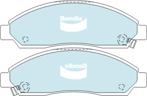 Brake Disc Pad Set Front Bendix DB1468 4WD For CHEVROLET HOLDEN ISUZU COLORADO R
