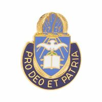 GENUINE U.S. ARMY CORPS CREST: CHAPLAIN - PRO DEO ET PATRIA
