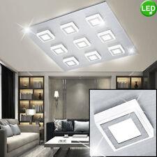 Led Techo Aluminio Iluminación Dormitorio Foco Lámpara plata Iluminación